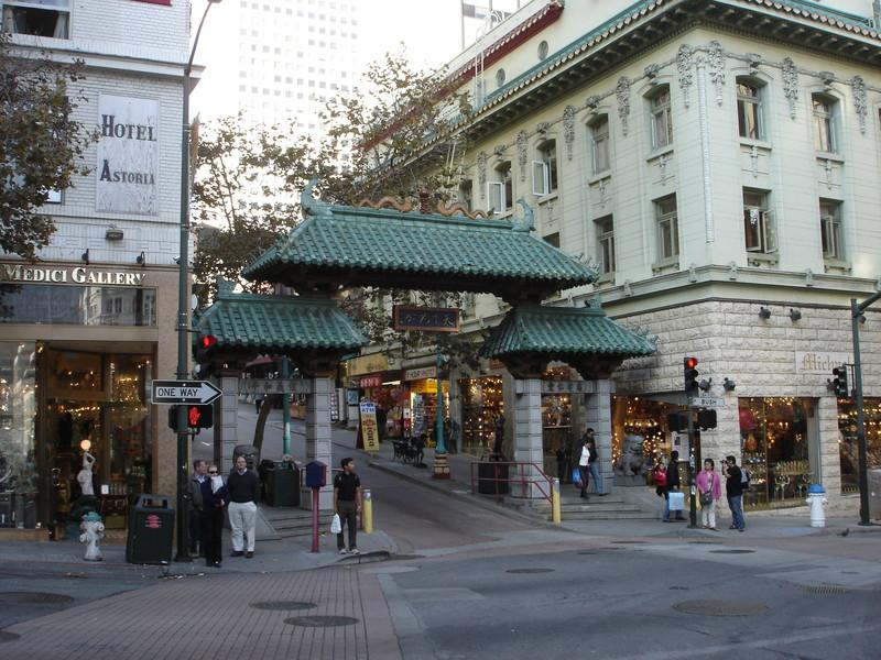 Chinatown San Francisco Night. San Francisco
