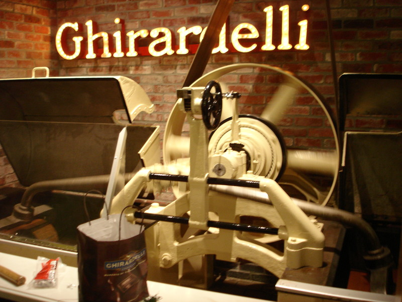 ice cream use ghirardelli